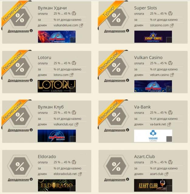 Lucky Partners - партнёрская программа казино