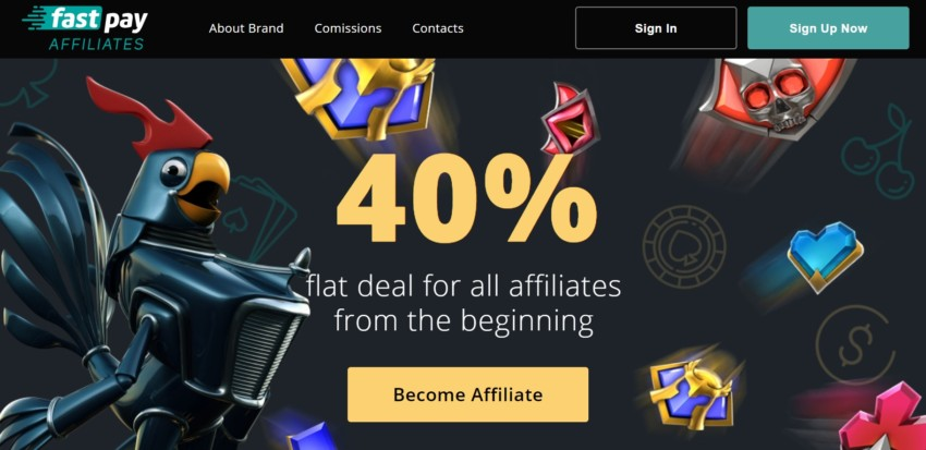 Fast Pay affiliates